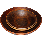 Grouping Of Primitive Wooden Bowls