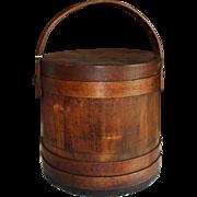 Wilder P. Clarke Firkin (sugar) Bucket