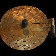 Brass Stencil Wheel w/Brush