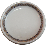 Pennsylvania Railroad Scammell's Trenton China Butter Plate