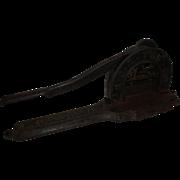 19th Century R.J. Reynolds Brown's Mule Tobacco Plug Cutter