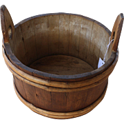 19th Century Primitive Washtub