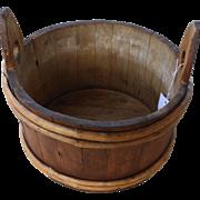 19th Century Primitive Washtub