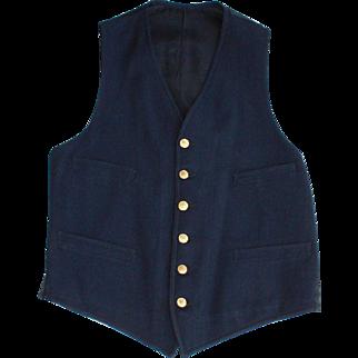 Pennsylvania Railroad Conductors Vest
