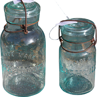 Lightning Fruit Jars