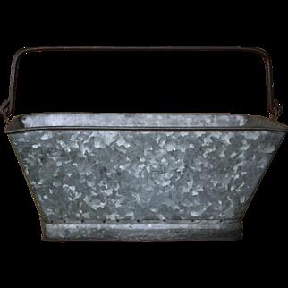 Vintage Pennsylvania Railroad Coal / Ash Bucket