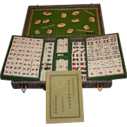 Mahjong Game and Case