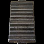 Griswold Cast Iron Cornbread Pan