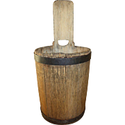 18th -19th Century Primitive Piggin Bucket