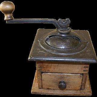 Vintage Coffee Mill Grinder