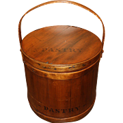 Large Firkin Pantry Bucket