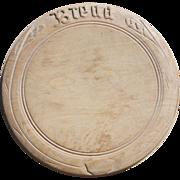 Victorian Bread Board
