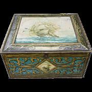 Vintage Beechnut Biscuit Tin Box