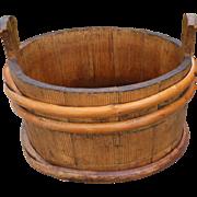 Primitive Piggin Bucket/Tub
