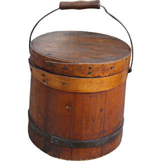 19th Century Firkin Bucket