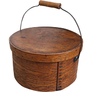 19th Century Pantry Box W/ Bail Handle