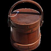 Vintage Firkin Sugar Bucket