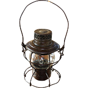 Pennsylvannia Railroad Handlan Clear Globe Lantern