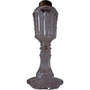Antique Blown Mold Oil Lamp
