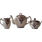 Lenox Belleek 3 Piece Porcelain tea set