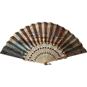 19th Century French Hand Fan