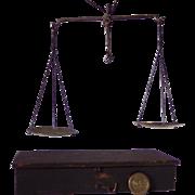19th Century Portable Suspension Balance Scales