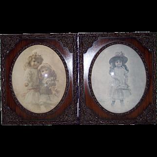 Pair of R. Henderson Vintage Prints