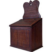 Chip Carved and Inlaid Wall Box