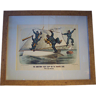 Original Currier and Ives Print