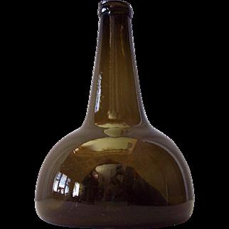 Early Blown Glass Wine Bottle
