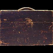 19th Century Vermont Hinged Lid Box