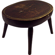 19th Century Cricket/Footstool