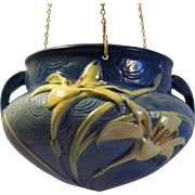 Roseville Pottery Zephyr Lily Hanging Planter