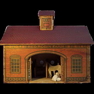 Antique Red Robin Farm
