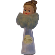 Vintage Cecilia Doll Head Topped Shampoo Bottle