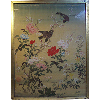 Early 20th Century Chinese Watercolor Painting