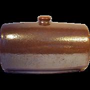 Barrel Form Stoneware Foot Warmer