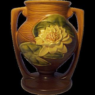 Roseville Pottery Waterlily Vase