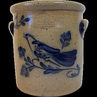 Vintage One Gallon Stoneware Crock