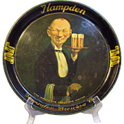 "Vintage ""Handsome Waiter"" Beer Tray"