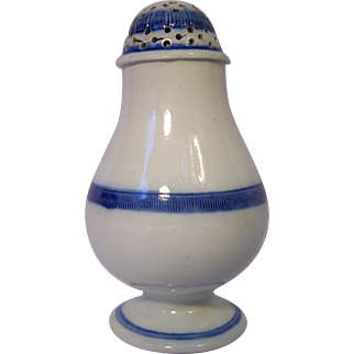 19th Century Pearlware Pepper Pot