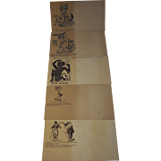 Civil War Patriotic and Political Postal Envelopes