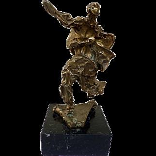 "Salvador Dali (1905-1989) ""L'Ame de Don Quichotte"" Original bronze sculpture. Limited edition."