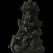 """Avalokitesvara"" Bronze 17th Century Ming"
