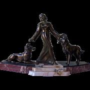 Art Deco Bronze Sculpture 1920s French