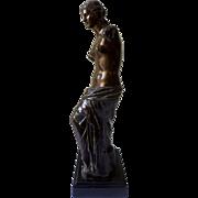 Venus de Milo, Bronze 19th century French Sculpture