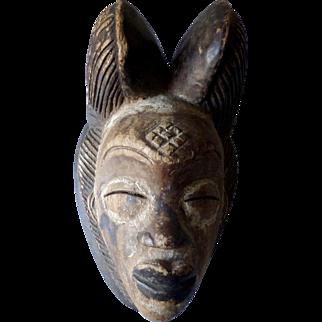 African Ritual Mask, Punu People, Gabon 19th/20th Century