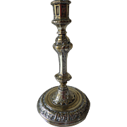 Louis XIV Bronze Candlestick French 17th Century