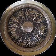 Bronze Neo Greek Tazza by Barbedienne France 1879.
