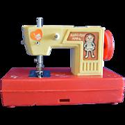 SM2 Raggedy Ann Toy Sewing Machine